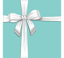 Tiffany Blue Box Photographic Print