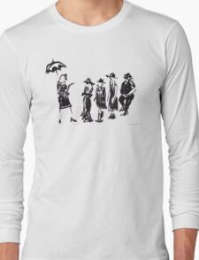 Wear this Ink Wash on Wednesdays Long Sleeve T-Shirt