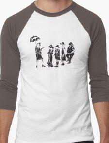 Wear this Ink Wash on Wednesdays Men's Baseball ¾ T-Shirt