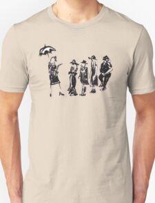 Wear this Ink Wash on Wednesdays Unisex T-Shirt