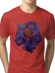 Gothic Rose Tri-blend T-Shirt