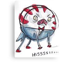 Demon Peppermint Butler - HISSSSSS Canvas Print