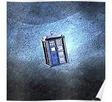 Tardis In Space Art Painting Poster