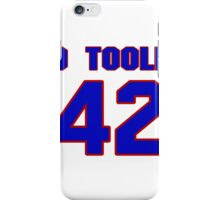 National baseball player Denny O'Toole jersey 42 iPhone Case/Skin