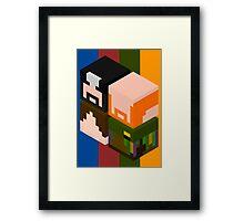 Super Best Cubes Framed Print