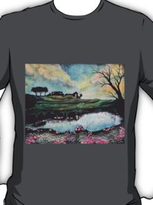 Landscape Reflected in Water T-Shirt