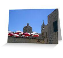 Maltese Sun Greeting Card