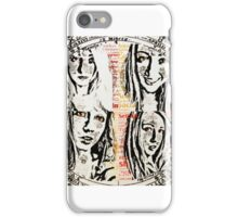 Four Corners of Me iPhone Case/Skin