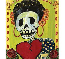 Dia de los muertos Skeleton Muerta Photographic Print