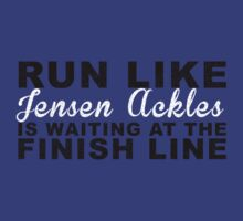 Run Like Jensen Ackles is Waiting at the Finish Line by getgoing