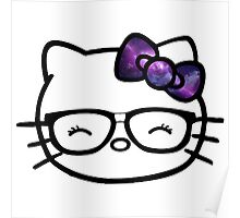 Hello Kitty w/ Galaxy Bow Poster