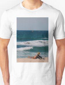 A typical Australian beach scene - summer. T-Shirt