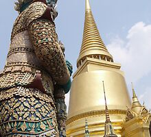 thai palace by Barry Adkin