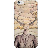 Work/Play Deer iPhone Case/Skin