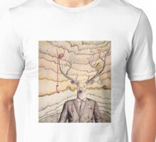 Work/Play Deer Unisex T-Shirt