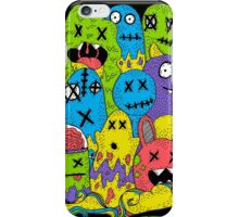 Test Tube Monsters Color iPhone Case/Skin
