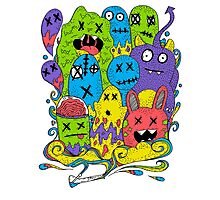 Test Tube Monsters Color Photographic Print