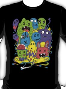 Test Tube Monsters Color T-Shirt