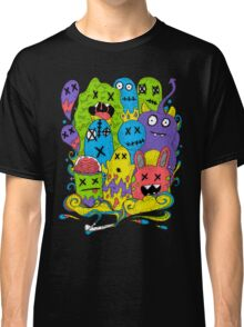 Test Tube Monsters Color Classic T-Shirt