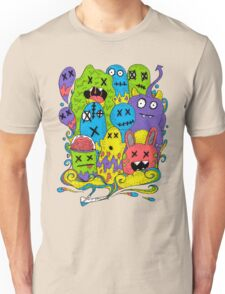 Test Tube Monsters Color Unisex T-Shirt