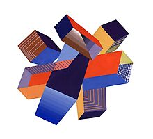 Geometric Design by A. Mack Photographic Print