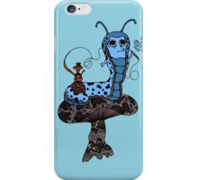 Hookah Smoking Catterpillar V3.0 iPhone Case/Skin