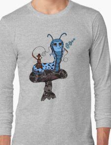 Hookah Smoking Catterpillar V3.0 Long Sleeve T-Shirt