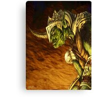 Bolg the Goblin King Canvas Print