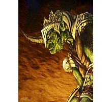 Bolg the Goblin King Photographic Print