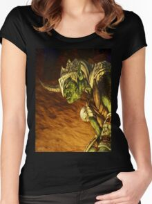Bolg the Goblin King Women's Fitted Scoop T-Shirt