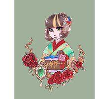 Ink Kimono  Photographic Print