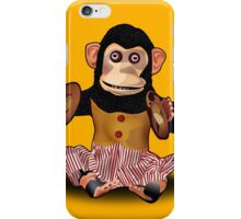 Clapping Monkey iPhone Case/Skin