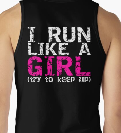 Run Like a Girl Tank Top