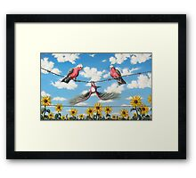What A Galah Framed Print