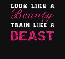 Look Like a Beauty, Train Like a Beast Women's Tank Top