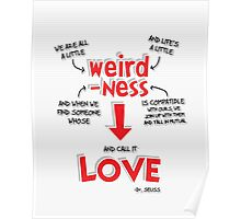 Weirdness is Love Poster