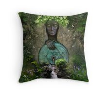Beltane Throw Pillow
