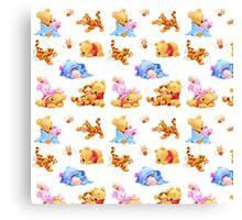 Winnie The Pooh Canvas Print