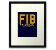 FIB - GTA V Framed Print