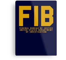 FIB - GTA V Metal Print