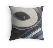 Rumi with paper towels Throw Pillow