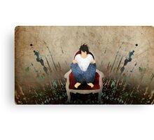 L Lawliet - Death Note Canvas Print