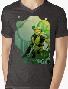 Master Chief - Halo Mens V-Neck T-Shirt