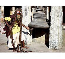 BAD HAIR DAY - KATHMANDU Photographic Print