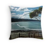 Lorne Beach Throw Pillow