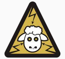 Electric Sheep Badge Logo Kids Tee