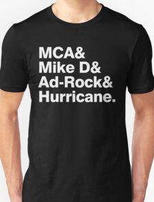 Beastie Boys members ampersand shirt T-Shirt