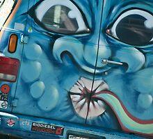 Van in San Francisco by Rick Symonds