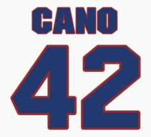 National baseball player Robinson Cano jersey 42 by imsport
