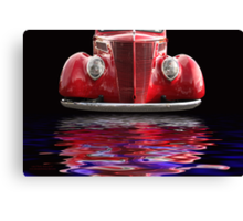 Red Hot Ford Canvas Print
